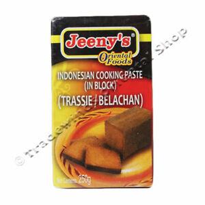 JEENY'S INDONESIAN BELACHAN COOKING PASTE BLOCK - 250G