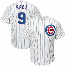 JAVIER BAEZ CHICAGO CUBS YOUTH MEDIUM 10/12 WHITE MLB BOYS JERSEY