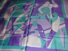 Horev Paris, silk scarf ,Jazz musicians !!  design by Wolf Reuther. FABULOUS !!