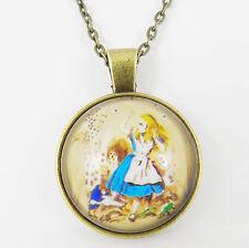 Alice nel paese delle meraviglie collana attraverso lo specchio Lewis Carroll vintage
