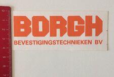 Aufkleber/Sticker: BORGH - Bevestigingstechnieken BV (12061665)