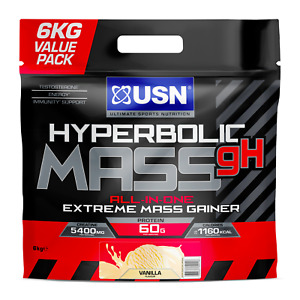 USN Hyperbolic Mass 6kg *NEW FORMULA* FREE NEXT WORKING DAY DELIVERY