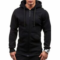 Men's Winter Hoodie Warm Coat Jacket Slim Hooded Sweatshirt Outwear Sweater