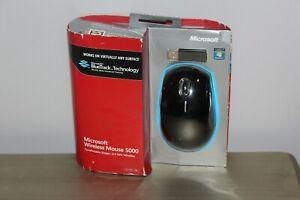 Microsoft Wireless Mouse 5000 Bluetrack Technology MGC-0001 Black - NEW SEALED