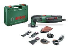 Bosch PMF 220 CE Multiherramienta con maletín 3 hojas de sierra, placa lijadora