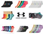 New Under Armour UA Ladies Womens or Youth No Show Ankle Socks 6 Pair