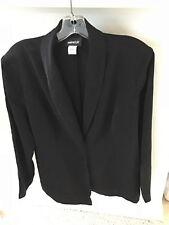 "Metrostyle Black Pantsuit, Unlined, Size 18, Inseam 30"""