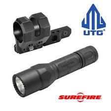 Surefire G2X Tactical Led Flashlight + Utg Mlok Compatible Offset Aluminum Mount
