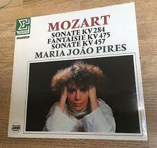 LP Mozart Maria Joao Pires Sonate KV 284 KV 457 Fantaisie KV 475 NEUF SCELLE*