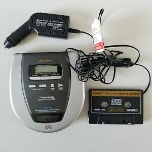 Lenoxx Sound Car / Portable CD Player & Cassette Adapter
