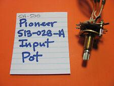 PIONEER S13-028-A INPUT POT SPLINED KNOB SA-500