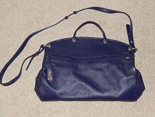 FURLA Piper Purple Leather Cross body Bag
