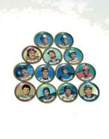 Topps MLB Baseball Player Coin Collector vintage lot 13 pieces coins