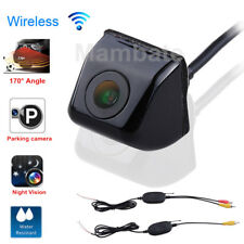 Wireless Car Rear View CCD 170° angle Night Vision Reverse Backup Parking Camera