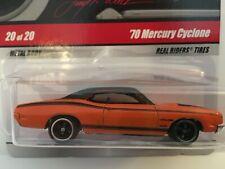 MONMC Hot Wheels Larry/'s Garage /'70 MERCURY CYCLONE #20//20 WHITE