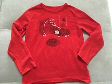 Boys Gap Shirt Size 4-5, XS Red Sports Theme Rugby