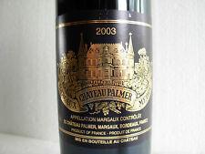 CHÂTEAU PALMER 2003 - MARGAUX -  GRAND CRU CLASSE