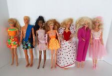 Vintage Barbie Ken Friends Fashion Dolls Clothes Sold As Found Estate Lot U