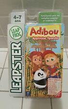 """Leapster pour console et Tv, 1 Jeux Leapfrog, """" Abidou """" Neuf sous blister"""