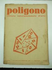 AA.VV., Poligono. Rivista mensile d'arte diretta da Raffaello Giolli, 1931