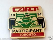 1991 Toronto Cart Participant Racing Pin