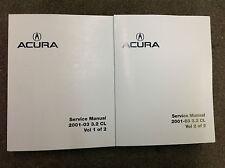 2001 2002 2003 Acura 3.2CL Service Repair Shop Manual FACTORY OEM BOOK NEW