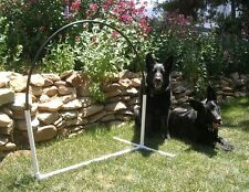 6 NADAC Hoopers Arched Hoops Dog Agility Equipment