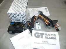GT 970 GT Alarm Antifurto moto Compatto NEW MODEL con telecomando e Chiave elttr