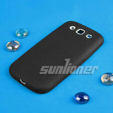 Black Gel Silicone Case Skin Cover for Samsung Galaxy S iii,S3, i9305 4G Lte