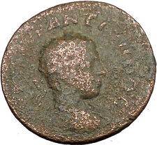ELAGABALUS 218AD Thessalonica in Macedon Nike Cabeirus Ancient Roman Coin i38708