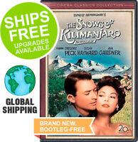 Snows of Kilimanjaro (DVD, 2007)NEW, Gregory Peck, Susan Hayward, Technicolor