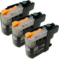 3PK LC-203BK XL Ink Cartridge For Brother MFC-J4620DW MFC-J4420DW MFC-J5520DW