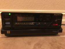 SONY EV-C8U VIDEO 8MM VCR DECK WORKS GREAT FOR 8MM TAPE TO TRANFER VIDEO TO DVD