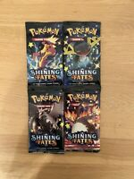 Pokemon TCG Shining Fates Booster ONE Pack Random Art New & Sealed (10th PACK)
