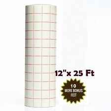 """Best Crafts 12"""" X 25' Roll Transfer Paper  for Cameo Cricut Self Adhesive Vinyl"""
