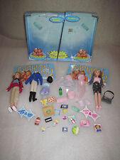 RARE HTF Mattel Mary-Kate & Ashley Doll W/ Outfits Mattel 1999 w/ Original Boxes