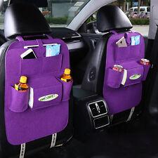 Auto Car Seat Back Multi-Pocket Storage Bag Organizer Holder Accessory Best 2017