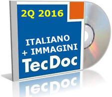 TECDOC 2016 2Q ITALIANO CATALOGO RICAMBI MANUALI TECNICI EPC VERS. FULL CORRIERE