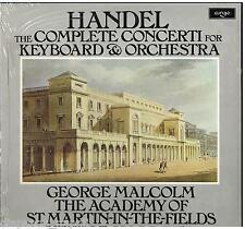 Handel: 6 Concerti Op.4, 6 Op.7 / George Malcom, Neville Marriner. ASMF - LP