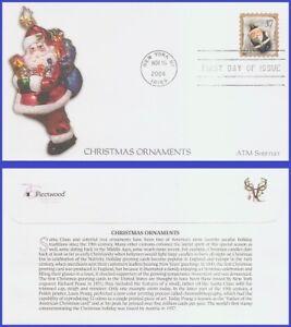 USA5 #3894 U/A FLEETWOOD FDC   Blue Santa Ornament