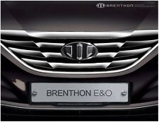 Brenthon Front Grill Rear Trunk Emblem Badge For 2011~2014 Hyundai Sonata 2PC