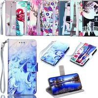Wallet Flip Stand Phone Case Cover for Samsung S9+ S8+ S9 S8 Note 9 8 LG K8 K10