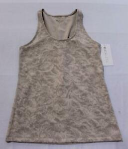 Athleta Women's Scoop Texture Tank TM8 Frosted Floral Pink Medium NWT