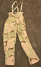 Class 2 Desert Camo Gore-Seam Overall pants Chemical Pro Adjustable MEDIUM LONG