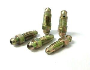 Brake bleed screws. 7mm x 1mm. Braking. Nipples. Pack of 5. *Top Quality!