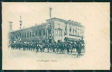 Roma città Militari Cavalleggeri cartolina QT7889