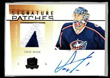 2009-10 The Cup Signature Patches #SPSM Steve Mason 30/75 HTD 420