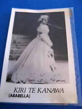 Kiri Te Kanawa - Signed photo -  New Zealand soprano