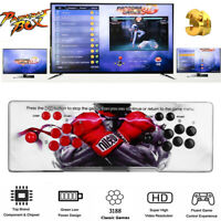 Pandora's Box 12 3188 in 1 Games 2 Stick Arcade Console 2D Support Projector Red
