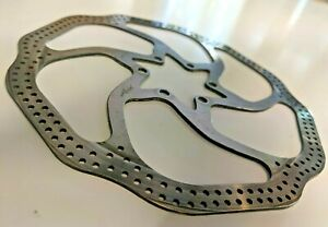 Avid HS1 180mm MTB vented disc brake rotor, 6 bolt, fixings included